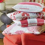 Jesienna propozycja Jane Churchill, poszewki na poduszki z tkaniny Arlo, Orissa i Cora, od 160 do
