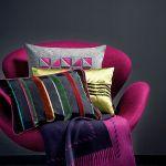 Jesienno-zimowa kolekcja Sahco, poduszki w cenie od 298 zł, pled – 5042 zł, DECODORE