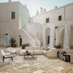 salon w śródziemnomorskim stylu pomysł