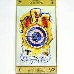 karty tarota wróby