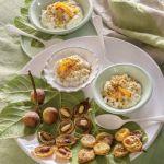 kuchnia włoska Krem z ricotty z migdałami