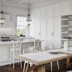 aranżacja wnętrza kuchnia w stylu klasycznym