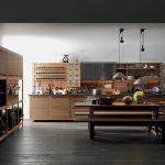 aranżacja wnętrza kuchnia w stylu industrialnym
