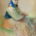 Leon Wyczółkowski, Hucułka , 1899 r., cw 35 000 zł, Rempex, Warszawa
