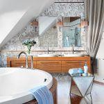 Lustrzany taboret - Mint Grey. Błyszczący dom w nowym włoskim stylu