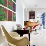 Modernistyczny styl i dobra sztuka. Bo obrazy są jak meble, bez których nie ma domu.