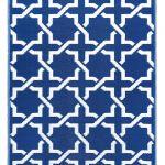 dywan niebieski orientalny