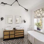 nowoczesne wnętrza biała łazienka