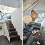 nowoczesny dom hol schody