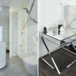 nowoczesny dom biała łazienka