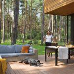 nowoczesny taras drewniany
