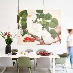 Obrazy na ścianę jadalnia kwiaty