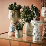 ceramiczne doniczki osłonki