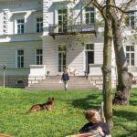 pałac bajkowe wnętrza ogród
