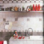 Płytki z serii Fuel: szara Gesso – 155 zł/m², ciemna – 135 zł/m², dekor Inserto Fuel – 135 zł/cztery sztuki. Yeti