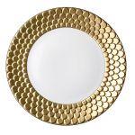 Porcelana Limoges pokryta 24-karatowym złotem.