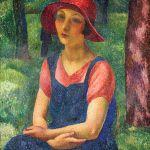 Portret młodej kobiety (Kiki) , 1921 r.