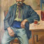 Portret ojca Rose , 1926 r. Maurycy Mędrzycki: poeta prowansalskiego pejzażu