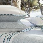 sypialnia inspiracje pościel bawełniana