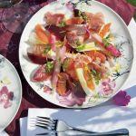 Potrawka z jagnięciny z rabarbarem. Rabarbarowa uczta