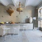 stylowa kuchnia otwarta na salon