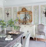 rezydencja z oranżerią salon lustro