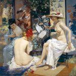 Rupert Bunny Kąpiel słoneczna , 1913 r.