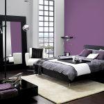 Ściany pomalowano farbą Dulux Kolory Świata Prowansja, kolor Lawendowa Dolina, cena 55 zł/2,5 l, Dulux