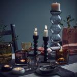 SITTNING świecznik czarny 19,99 zł. Nowy katalog IKEA 2016
