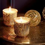 stół wigilijny świeczki