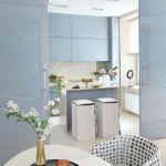 Nowoczesny styl glamour – pastelowy apartament włoskiej scenografki