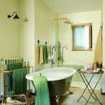 w rustykalnym stylu łazienka