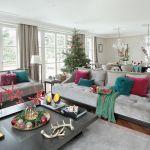 dekoracje bożonarodzeniowe do salonu