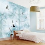 sypialnia błękit