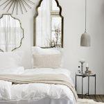 biała sypialnia pomysł