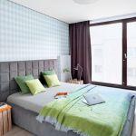 nowoczesna sypialnia wystrój
