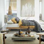sypialnia inspiracje w kolorach ziemi