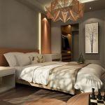 Szara sypialnia - inspiracje, dodatki, aranżacje