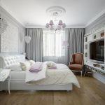 Fot. Shutterstock. Szara sypialnia - inspiracje, dodatki, aranżacje