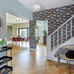 Poznański dom pełen wzorzystych tapet i orientalnych dekoracji