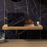 Płytki łazienkowe z ceramiki, kamienia, drewna i szkła
