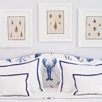 W pokoju Pod homarem śpią goście. Śródziemnomorska willa w błękitach