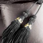 Welurowa biżuteria Black Velvet Star.