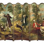 Ze scenkami rodzajowymi, XVIII w., Ameryka Środkowa