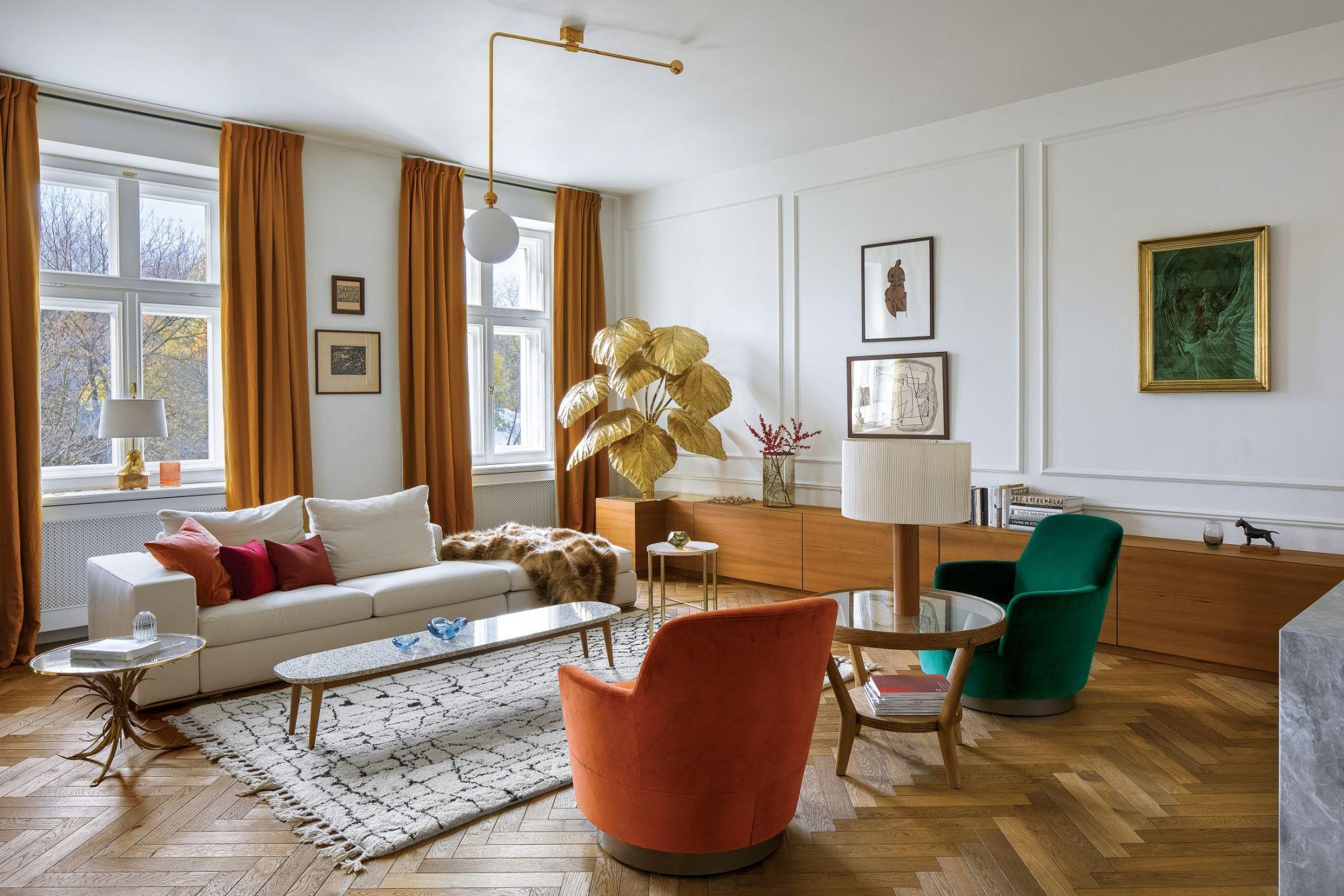 salon w stylu vintage aranżacje zdjęcia