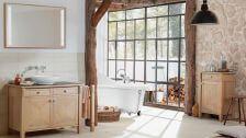 rustykalna łazienka inspiracje