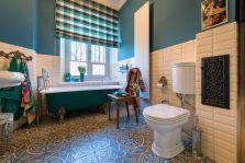 łazienka styl vintage i nowoczesny