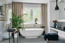 styl hampton łazienka