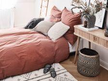dekoracje w stylu boho do sypialni