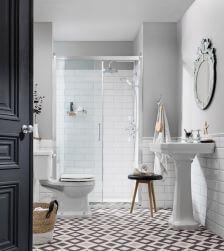 łazienka styl angielski